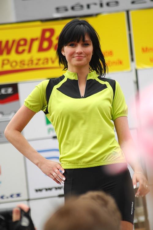 PowerBar MTB Posázavím 2008 - módní přehlídka hadříků Sportful
