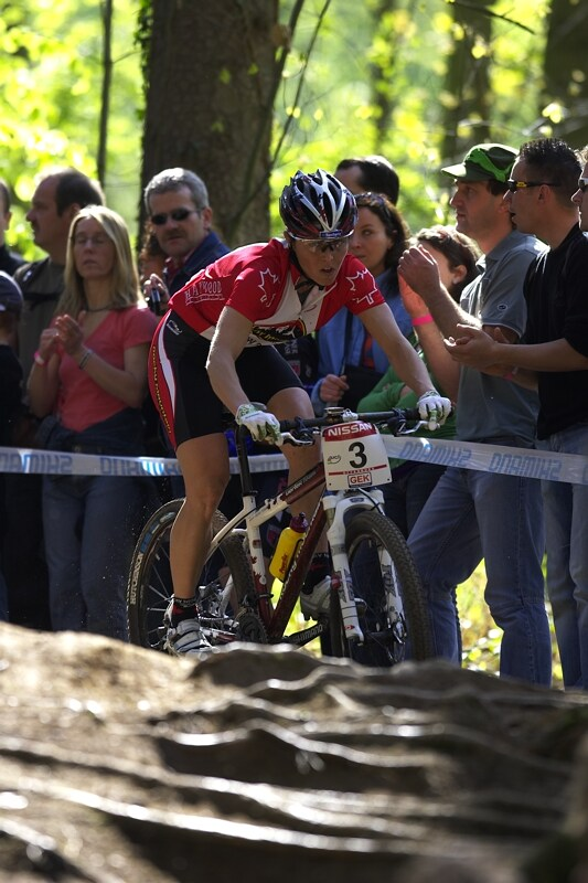Nissan UCI MTB World Cup XC #2 - Offenburg 27.4.2008 - Marie Helene Premont