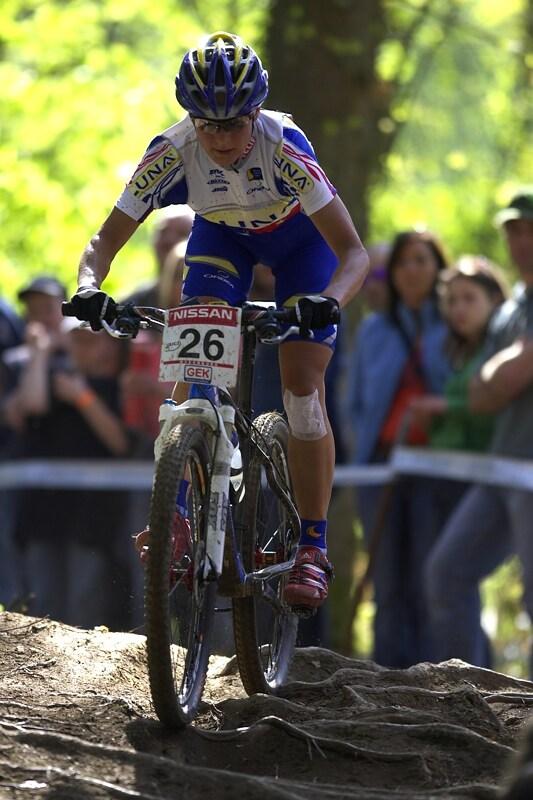 Nissan UCI MTB World Cup XC #2 - Offenburg 27.4.2008 - Kateřina Nash
