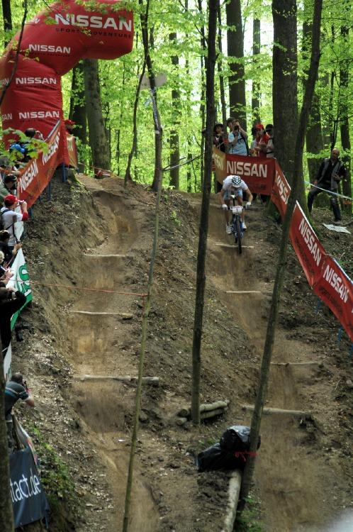 SP XC #2 2008 Offenburg - Julien Absalon na Dual Speedu