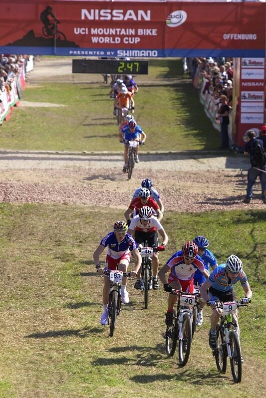 SP Offenburg 19.4.2008 - po zaváděcím kole juniorů