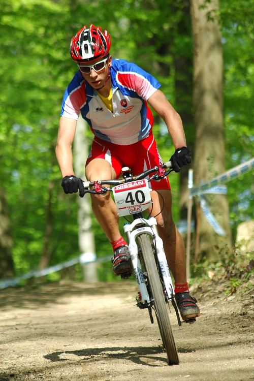 SP XC #2 2008 Offenburg - junioři - Peter Sagan