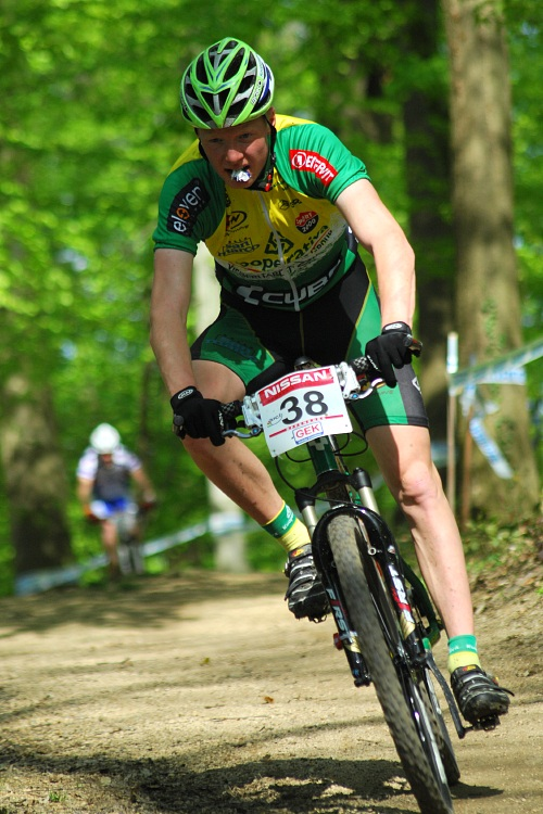 SP XC #2 2008 Offenburg - junioři - Jan Nesvadba