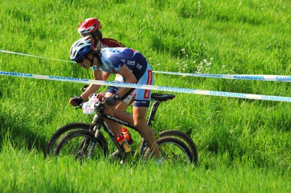 SP XC #2 2008 Offenburg - junioři - Janda a Cink