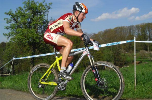 SP XC #2 2008 Offenburg - junioři - Ondřej Paur
