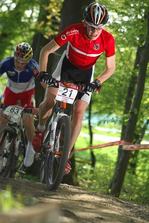 SP XC #2 2008 Offenburg - junioři