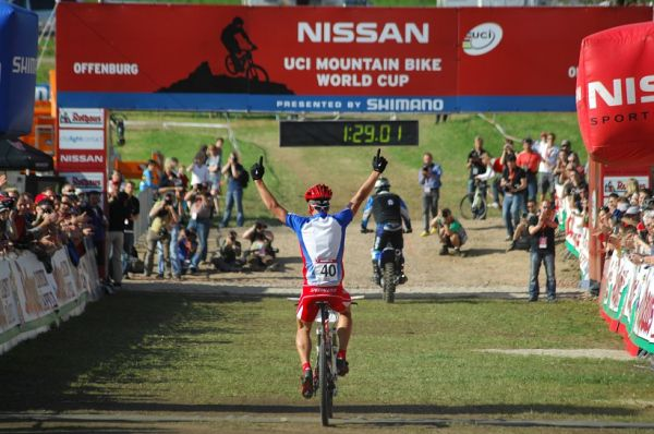SP XC #2 2008 Offenburg - junio�i - Sagan v�t�z�