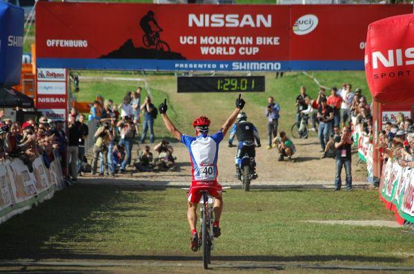 SP XC #2 2008 Offenburg - junioři - Sagan vítězí