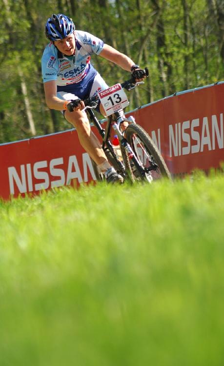 SP XC #2 2008 Offenburg - junioři - Jakub Magnusek