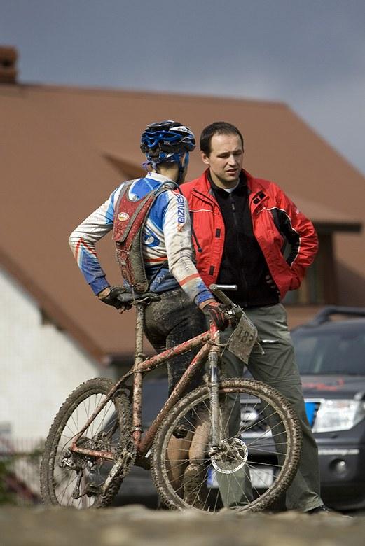 Beskidy MTB Trophy - Istebna, 2. etapa 23.5. 2008, foto: Pawel/Magazin Rowerowy