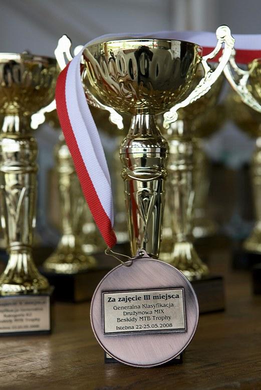 Beskidy MTB Trophy - Istebna, 4. etapa 25.5. 2008, foto: Pawel/Magazin Rowerowy