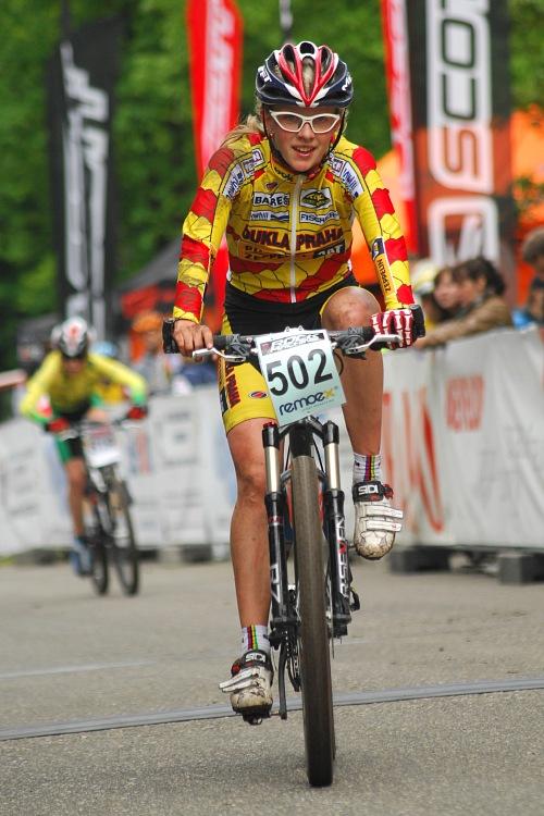 ČP XC Karlovy Vary 2008: Vendula Kuntová získala dres pro lídra poháru