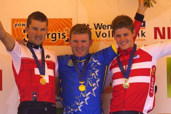 Mistrovství Evropy - 18.5.2008, St. Wendel/GER - 1. Vogel, 2. Sauser, 3. Fuglsang