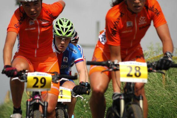ME XC 2008 St. Wendel - ženy Elite: schovaná Pavla Havlíková