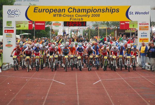 ME XC 2008 St. Wendel - muži Elite: start