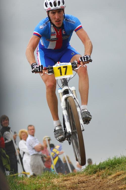 ME XC 2008 St. Wendel - muži Elite: Milan Spěšný