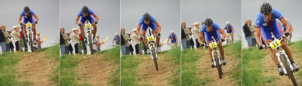 ME XC 2008 St. Wendel - muži Elite: Filip Eberl zkušeně