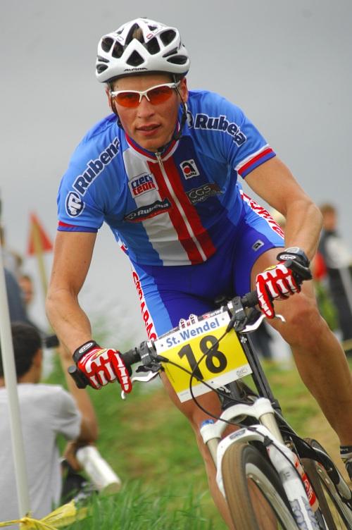 ME XC 2008 St. Wendel - muži Elite: Matouš Ulman