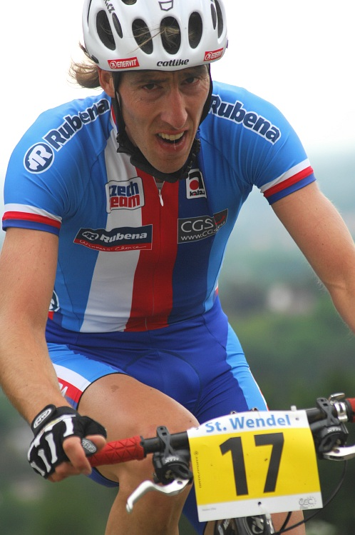 ME XC 2008 St. Wendel - muži Elite: Milan Spěšný si dává