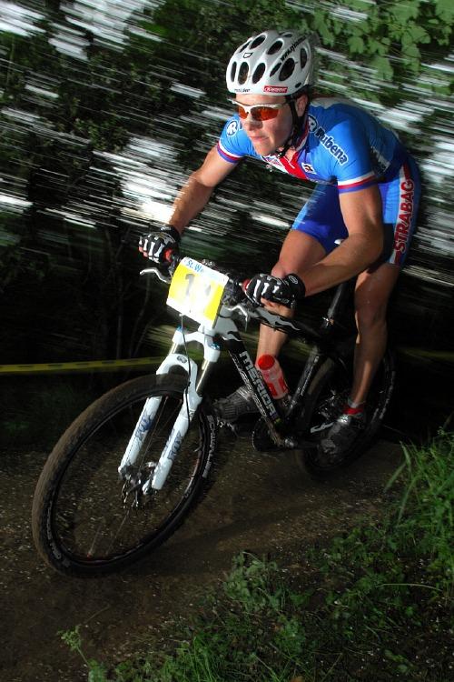 ME XC 2008 St. Wendel - mu�i Elite: Ji�� Friedl chv�li druh�m �echem v z�vod�