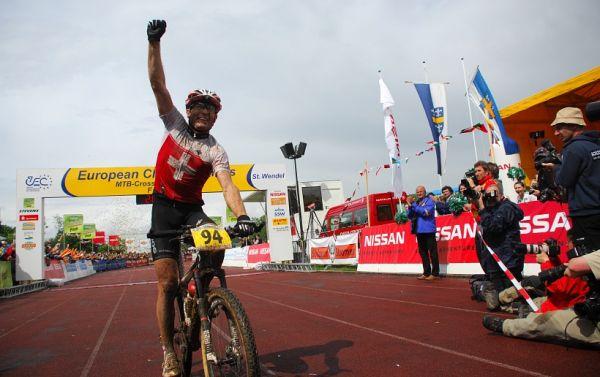 ME XC 2008 St. Wendel - muži Elite: Florian Vogel mistrem Evropy