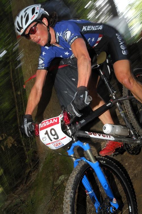 Biky mistryň USA a Evropy - Mary McConneloug v akci (SP XC Offenburg 08)