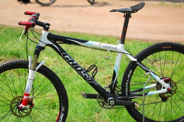 Biky mistryň USA a Evropy - karbonový Ghost Němky Sabine Spitz