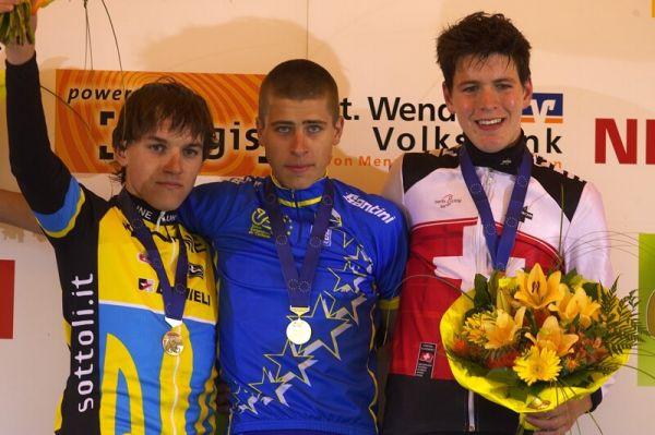 Mistrovství Evropy - 17.5.2008, St. Wendel/GER - 1. Sagan, 2. Batsutsa, 3. Rupp