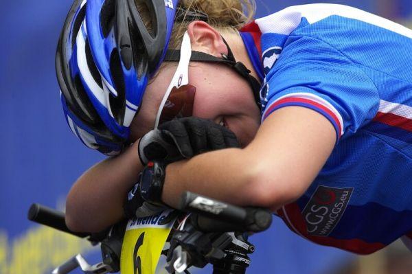 Mistrovství Evropy - 17.5.2008, St. Wendel/GER - smutek a slzy Jany Valešové