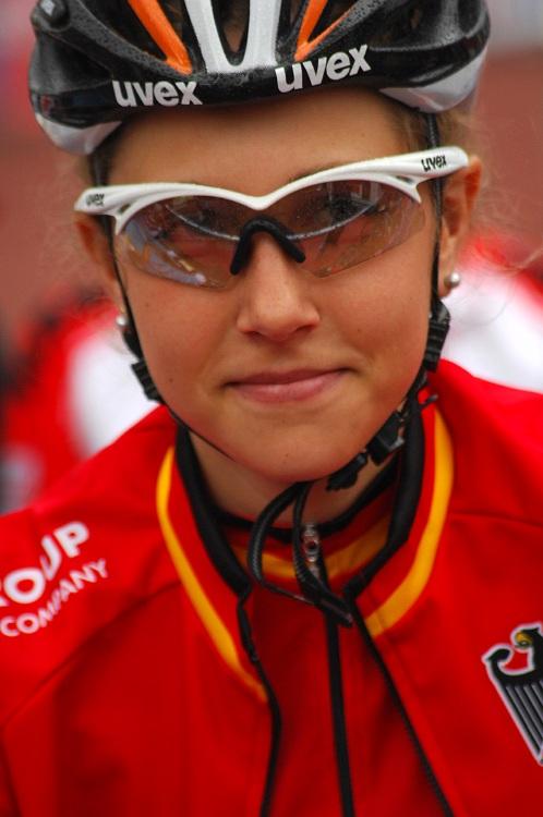 ME XC 2008, St. Wendel - juniorky: favoritka Mona Eiberweiser