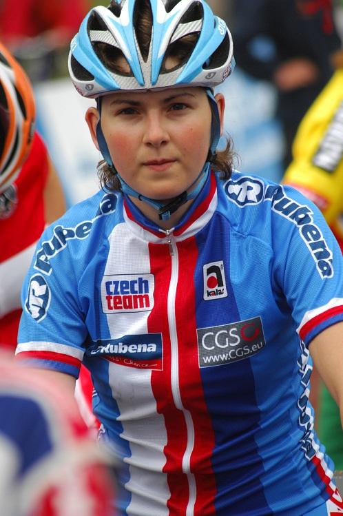 ME XC 2008, St. Wendel - juniorky: Jitka Škarnitzlová