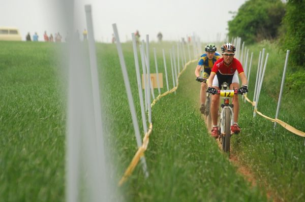 ME XC 2008, St. Wendel - juniorky: Eiberweiser na čele hned od začátku