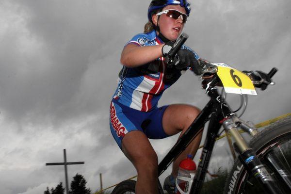 ME XC 2008, St. Wendel - junorky: Jana Valešová