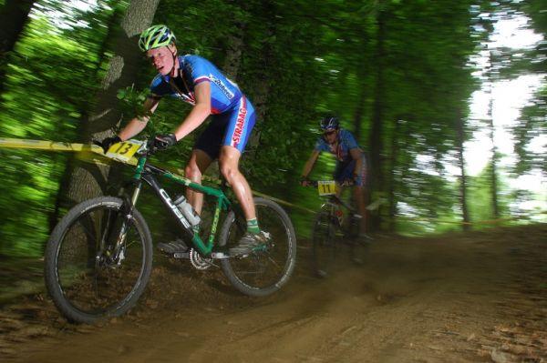 ME XC 2008, St. Wendel - junioři: Jan Nesvadba a Jakub Magnusek
