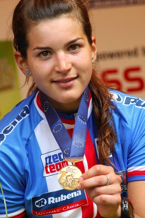 ME XC 2008, St. Wendel: Tereza Huříková vybojovala bronzovou medaili
