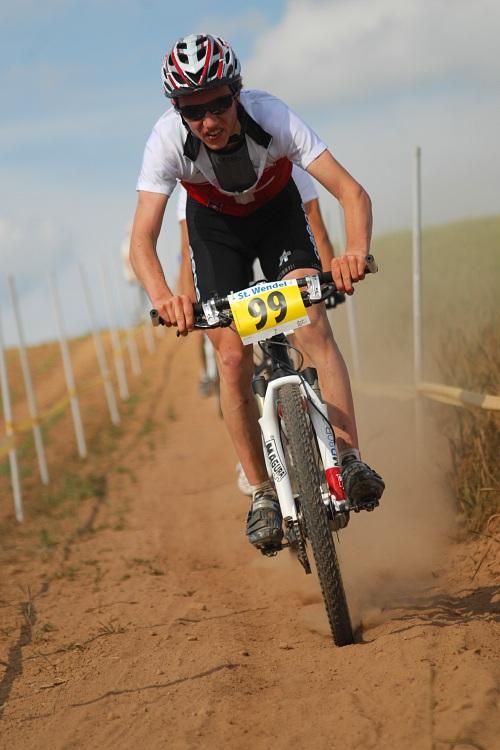 ME XC 2008, St. Wendel - muži U23: Mathias Fluckiger