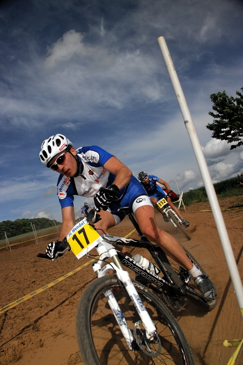 ME XC 2008, St. Wendel - muži U23: Estonec Martin Loo