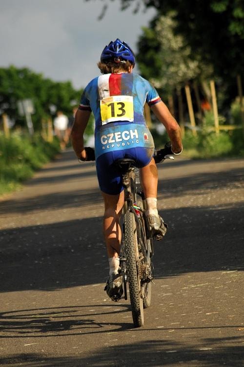 ME XC 2008, St. Wendel - muži U23: trápící se Josef Kamler. Třináctka nebude jeho šťastné číslo.