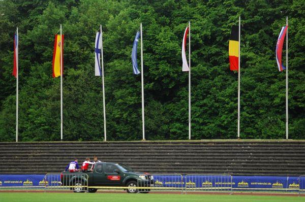 ME XC 2008, St. Wendel - muži U23: cesta na podium