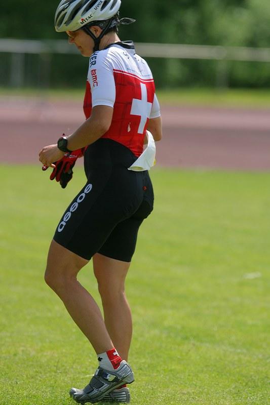 Mistrovství Evropy XC - štafety, 16.5.2008 St. Wendel/GER - Petra Henzi si chvíli pobrečela