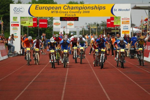 Mistrovství Evropy 2008 St. Wendel (GER) - štafety - start