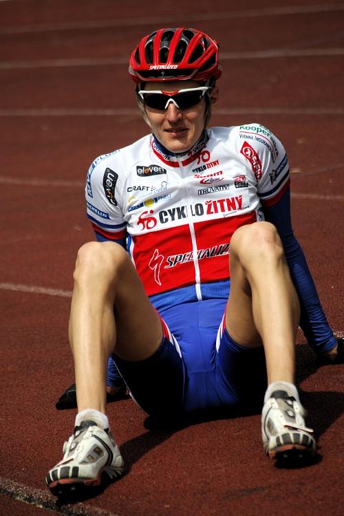 Mistrovství Evropy 2008 St. Wendel (GER) - štafety - Jaroslav Kulhavý jen přihlížel