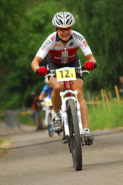 Mistrovství Evropy 2008 St. Wendel (GER) - štafety - Petra Henzi (SUI)