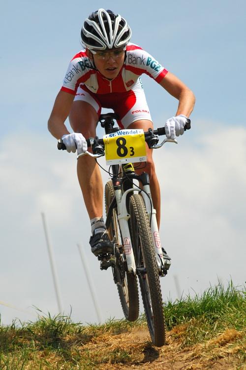 Mistrovství Evropy 2008 St. Wendel (GER) - štafety - Maja Wloszczowska