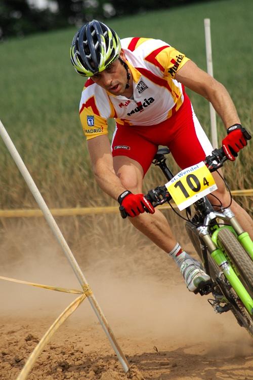 Mistrovství Evropy 2008 St. Wendel (GER) - štafety - Jose Antonio Hermida
