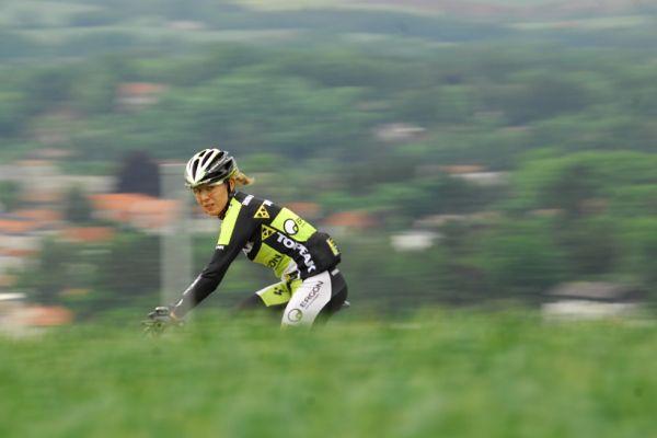 Mistrovství Evropy 2008 St. Wendel (GER) - štafety - Irina Kalentieva na tréninku