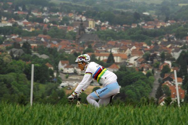 Mistrovství Evropy 2008 St. Wendel (GER) - štafety - Bude Absalon v neděli králem Wendelu?