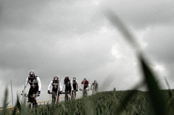 Mistrovství Evropy 2008 St. Wendel (GER) - štafety - Švýcaři na tréninku