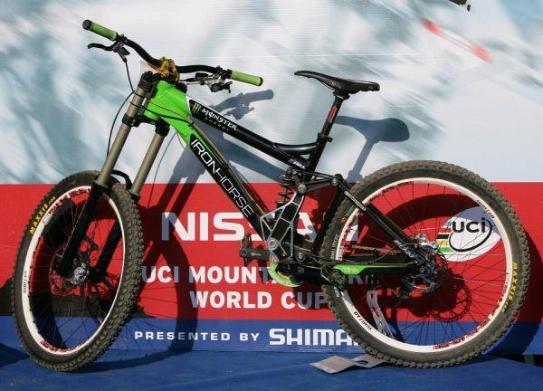SP DH #1 Maribor 2008 Hill's bike