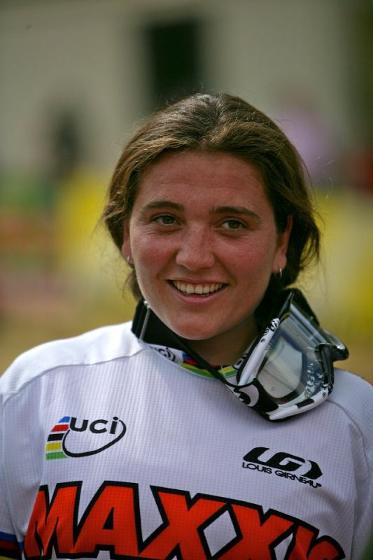 SP DH #1 Maribor 2008 Sabrina Jonnier